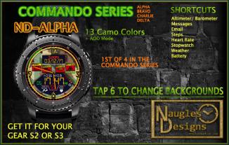 commando alpha AD