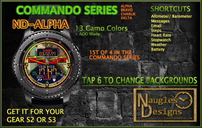 commando alpha AD